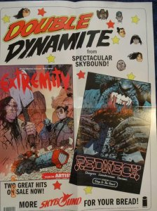 DOUBLE DYNAMITE Promo Poster, Red Neck Extremity 18 x 24, 2017, IMAGE Unused 573