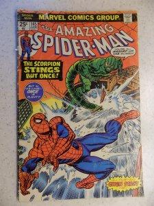 AMAZING SPIDER-MAN # 145 MARVEL SCORPION LOWER GRADE ADVENTURE