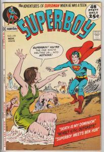 Superboy #179 (Nov-71) VF- High-Grade Superboy