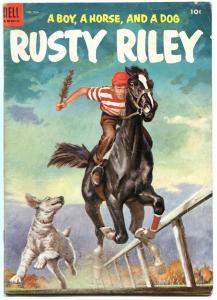 Rustin Riley- Four Color Comics #554 1954- Dell Golden Age VG