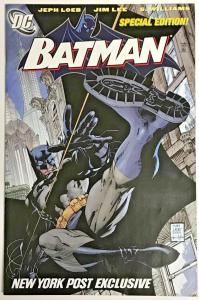 BATMAN#608 VF/NM JIM LEE NEW YORK POST EXCLUSIVE EDITION DC COMICS