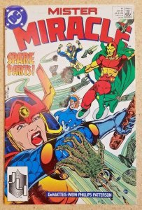MISTER MIRACLE #8, VF/NM, DeMatteis, Big Barda, 1989, more DC in store