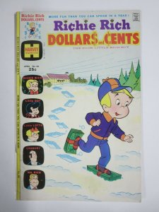 RICHIE RICH DOLLARS AND CENTS #66 (Harvey,4/1975) VERY GOOD MINUS (VG-)