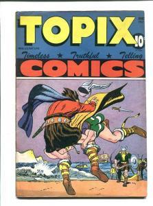 TOPIX #9-1947-VIKING BATTLE COVER-KINGS OF KINGS FN/VF
