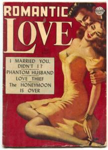 Romantic Love #11 1952- Incredible Headlight cover- Kinstler art VG-