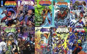 UNION (1995 IM) 1-9,Final Vengeance  COMPLETE+ COMICS BOOK