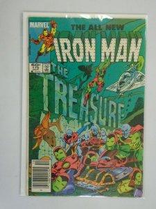 Iron Man #175 Newsstand edition 4.0 VG (1983 1st Series)