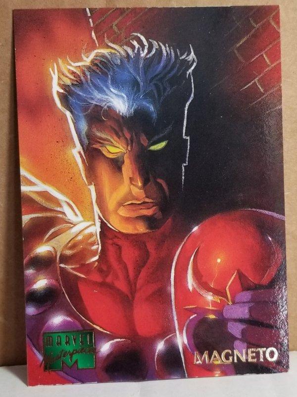 1995 Marvel Masterpieces #61 Magneto