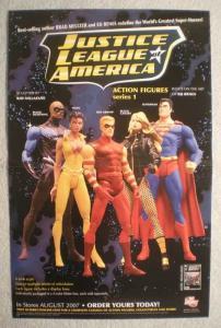 JUSTICE LEAGUE OF AMERICA Promo Poster, 2007, Unused, Superman, JLA