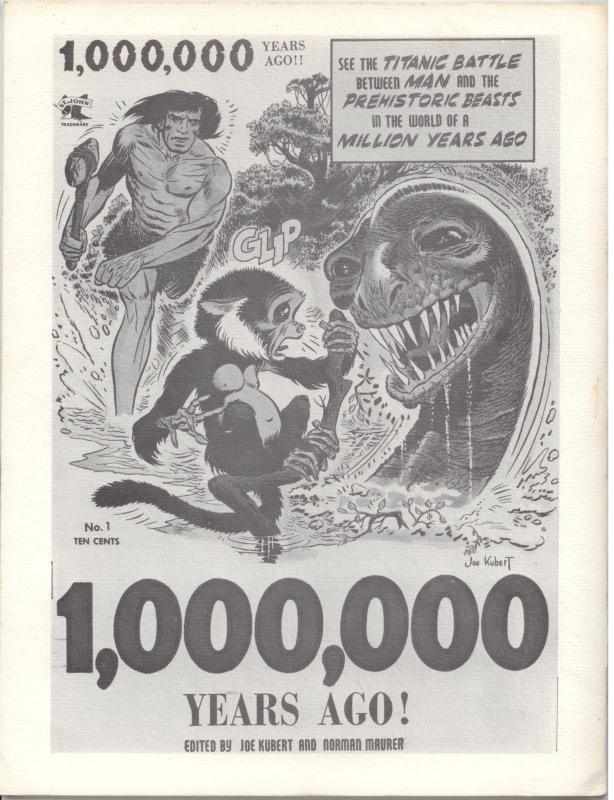 Comic Fanzine: Fantastic Exploits #18 (1969 FSCA) Tor by Joe Kubert VF