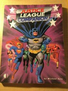 Justice League Companion DC Comic Book Michael Eury Batman Superman Flash MFT2