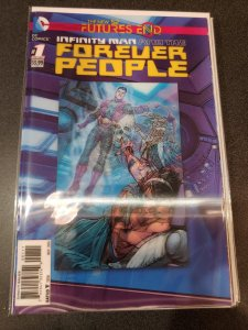 Infinity Man and the Forever People # 1 Future's End 3D Lenticular Cover...