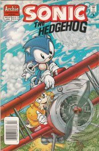 Sonic the Hedgehog 57 VF Newsstand