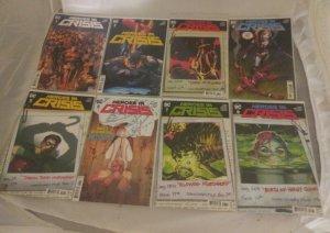 Lot of 8 DC Comics Heroes in Crisis 1 - 8 Run First Prints Tom King Mann NM