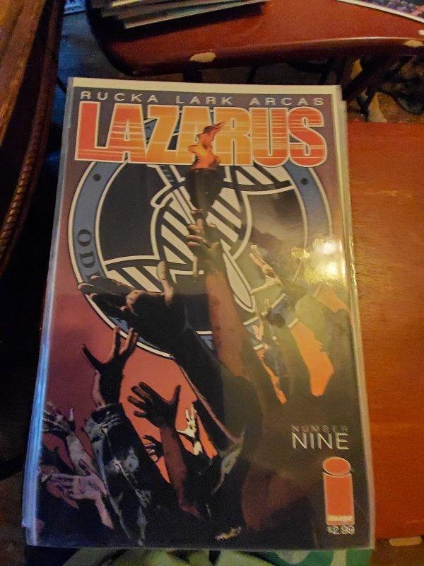 Lazarus #9 (2014)