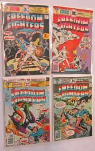 Freedom Fighters run:#1-4 4.0 VG (1976)