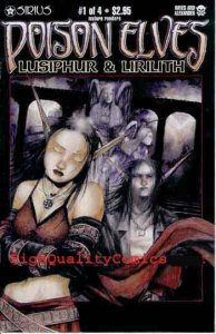 POISON ELVES Lusiphur & Lirilith #1, NM+, Drew Hayes, 2001, more in store