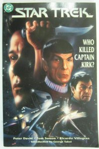 Star Trek Who Killed Captain Kirk? #1 blunted corner 4.0 VG (1993)