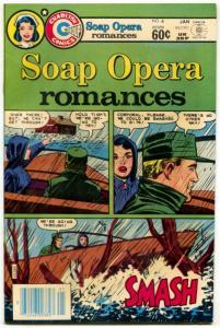 Soap Opera Romances #4 1983- Charlton- Nurse Betsy Crane F/VF