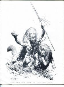 ERB-dom #17 1966-Edgar Rice Burroughs & Tarzan fanzine-VF