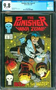 Punisher: War Zone #2 CGC 9.8