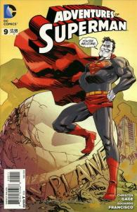 Adventures of Superman (2nd Series) #9 VF/NM; DC | save on shipping - details in
