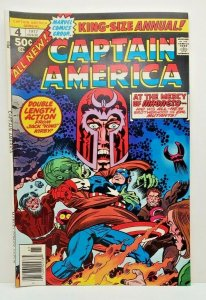 CAPTAIN AMERICA #4 King Size Annual, VF/NM, (1976)