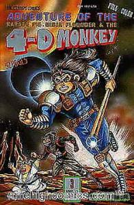 4-D Monkey, The #3 VF/NM; Leung's | save on shipping - details inside