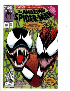 Amazing Spider-Man # 363 NM Marvel Comic Book Hob-Goblin Black Rhino Venom UD1
