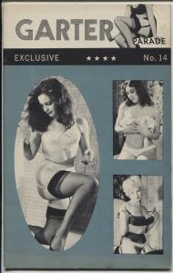 Garter Parade #14 1961-S & G-Stocking & garter cheesecake pix-FN