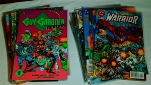 Guy Gardner Reborn/Warrior 1-44 (minus 4) Reborn Mosaic Green Lantern, lot of 63