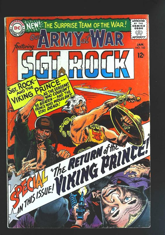 Our Army at War (1952 series) #162, Fine- (Actual scan)