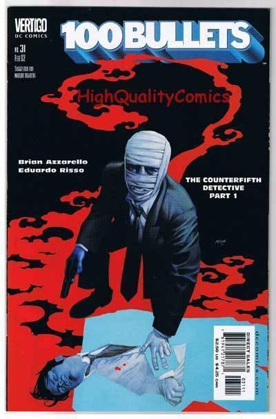 100 BULLETS #31, NM, Brian Azzarello, Risso, Vertigo,1999, more in store