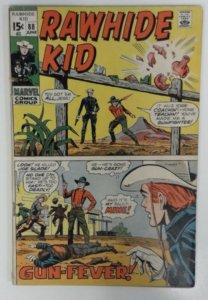 Rawhide Kid #88 Marvel Comic 1970 Bronze Age VG+ Western Cowboy Comics