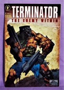 Ian Edginton TERMINATOR The ENEMY WITHIN #2 Vince Giarrano (Dark Horse, 1991)!