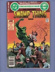 DC Special Series #17 VG Bernie Wrightson Swamp Thing DC 1979