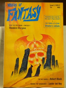 Worlds of Fantasy Issue 3, 1070-1971