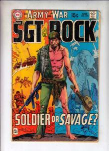 Our Army at War #220 (Jun-70) GD/VG Affordable-Grade Easy Company, Sgt. Rock
