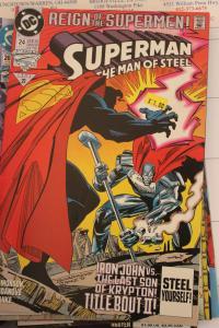 Superman the Man of Steel 24 NM