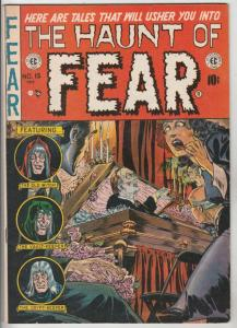 Haunt of Fear, The #15 (Oct-52) FN/VF Mid-High-Grade Crypt Keeper, Vault Keep...