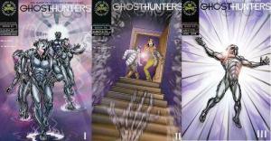 GHOSTHUNTERS (2004 BBP) 1-3  complete series run!