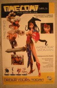AME-COMI GIRLS Promo poster, 11x17, 2008, Unused, more in our store