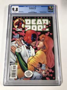 Deadpool (1997 series) #56 CGC 9.8