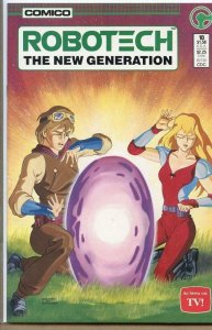 ROBOTECH THE NEW GENERATION #10, NM, Comico, 1985 1986  more Indies in store