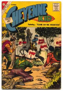 Cheyenne Kid #37 1962- charlton western VG