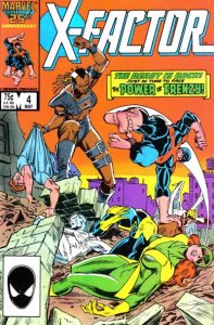 X-Factor (1986 series) #4, NM- (Stock photo)