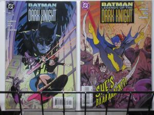 BATMAN: LEGENDS OF THE DARK KNIGHT (DC,1989) #180,181 Batgirl/Oracle! VF-NM