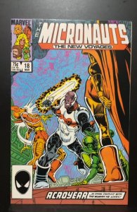 Micronauts: The New Voyages #18 (1986)