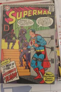 Superman 191 VG/FN