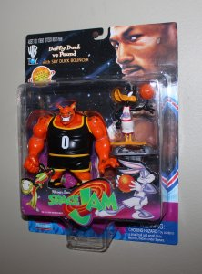 Michael Jordan Space Jam: Daffy Duck & Pound Figure MOC  1996